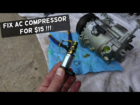 AC COMPRESSOR NOT ENGAGING NOT BLOWING COLD FIX CHEVROLET MALIBU EQUINOX CRUZE SONIC TRAX TAHOE