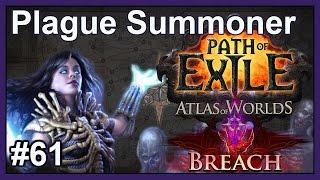 Map: Vaal Pyramid & Zana Terrace - #61 - Plague Summoner - Path of Exile (HC SSF v2.5 Breach League)