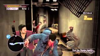Free Battle - Yakuza: Dead Souls Gameplay (PS3)