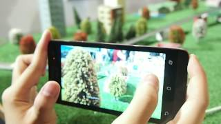 Camera Modes on ASUS ZenFone 5 - Time Rewind, Depth of Field and Miniature Mode