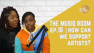 SHOULD WE CHANGE HOW WE CONSUME MUSIC & WILL IT HELP ARTISTS MORE? || THE MUSIC ROOM EPISODE 18