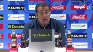 Rueda de prensa de Sandoval tras el Rayo Vallecano vs RCD Mallorca (1-0)