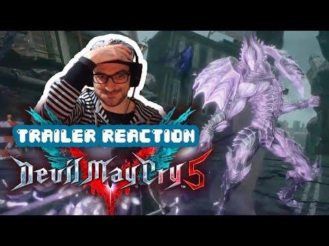 REACCIÓN: Devil May Cry 5 - The Game Awards 2018 Trailer thumbnail