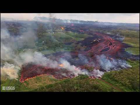 May 19 Fissure and Flows in Kilauea Volcano's Lower East Rift Zone