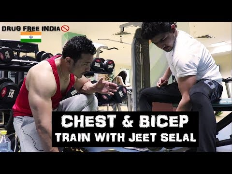CHEST & BICEP- Train with JEET SELAL |Free Personal Training Session|