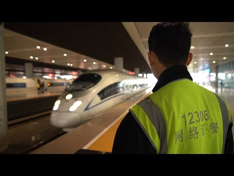 You Can Get Food Delivered On China's Bullet Trains