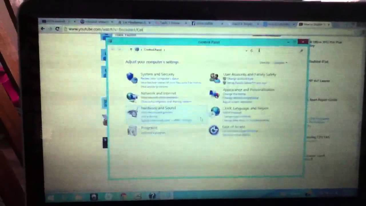Disable touchpad HP Pavilion laptop Windows 8 - YouTube