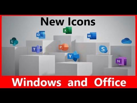 [Новини] Нові іконки Windws 10 і Office 2019