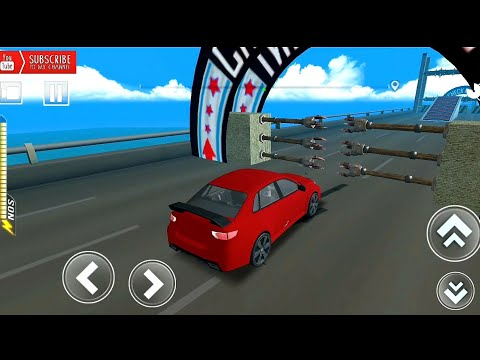 Speed Bumps car Challenge 2019 driving sports car