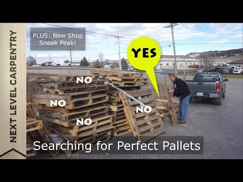 A Search For Perfect Pallets