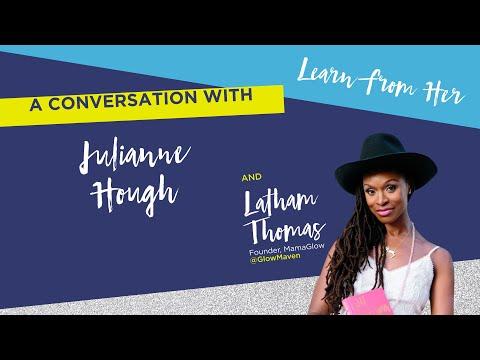 BlogHer18 - Julianne Hough keynote - Endometriosis