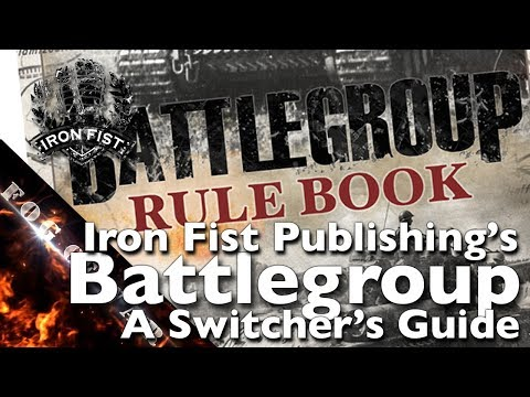Review | A Switcher's Guide to Battlegroup - WWII tabletop wargame rules | Battlegroup