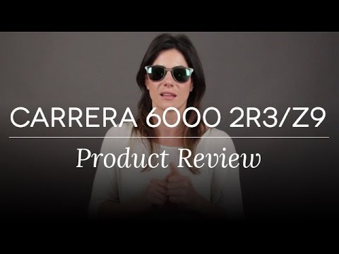 CARRERA 6000-2R3/Z9 Sunglasses Review