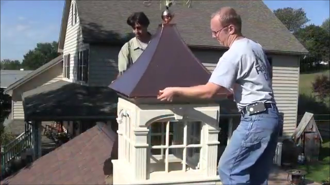 Cupola Installation How To Install Your Quot Royal Crowne