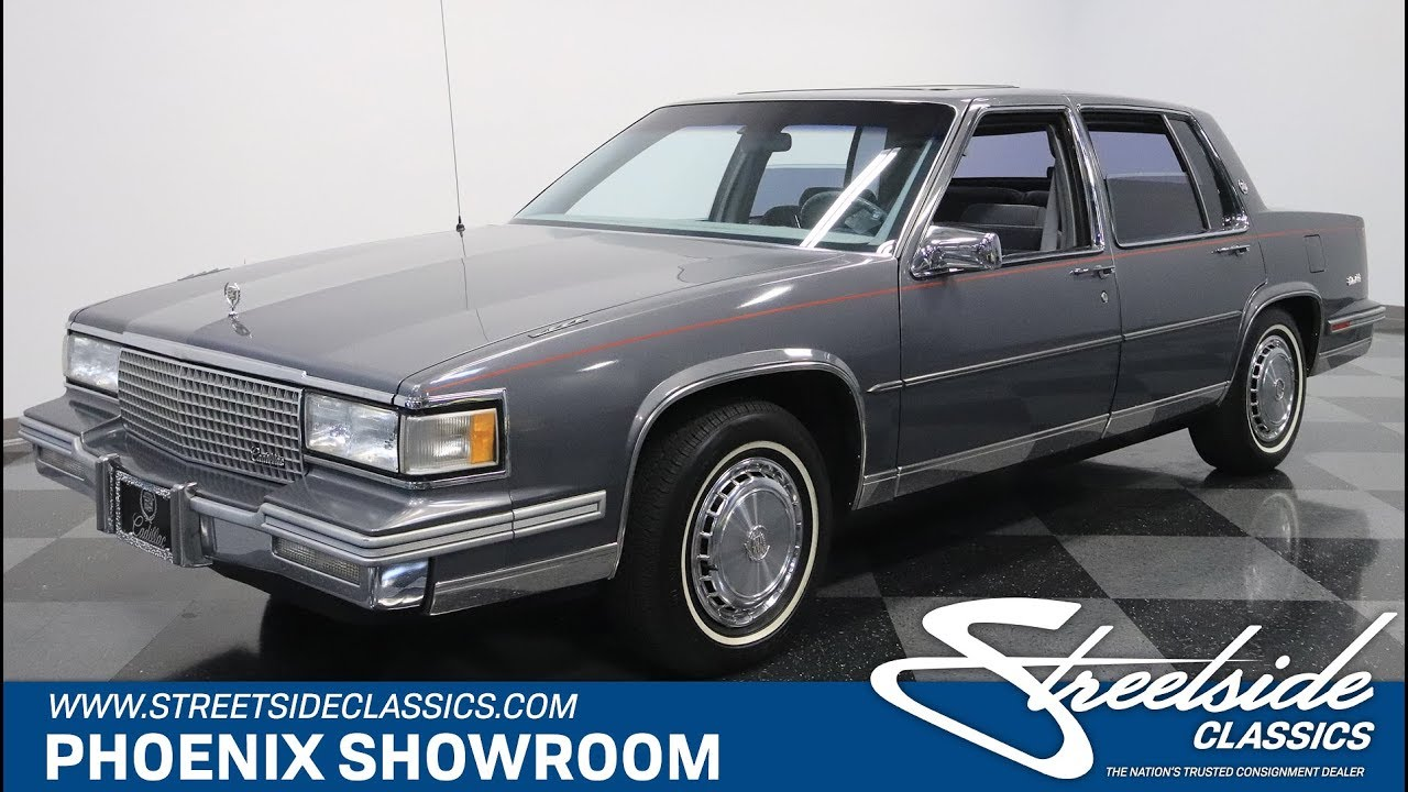 email us about this 1987 cadillac deville [ 1280 x 720 Pixel ]