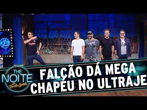 """The Noite (15/06/16) - Falcão dá um """"chapelaço"""" no Ultraje a Rigor"""