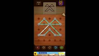 Line Puzzle String Art Spurce Level 21 - 40 Walktrough / Solutii Line Puzzle Spurce 21 - 40
