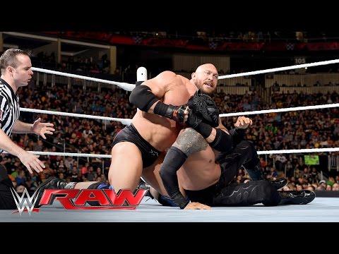 Sin Cara vs. Ryback: Raw, March 14, 2016