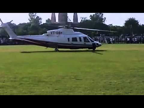 SUNNY DEOL helicopter scene when he comes at BAHAL HARYANA........
