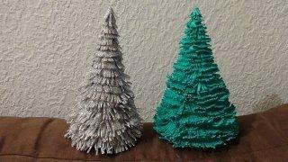 Делаем елку своими руками из фоамирана. \ Christmas Tree HandMade\