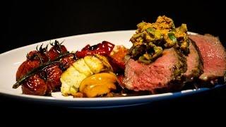 Folge93 - Cowboy Steak  gebackener Feta Deutsches Grill- BBQ- und Kochrezept