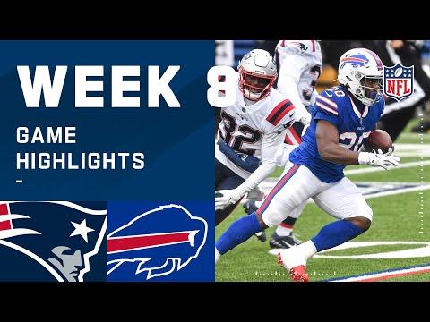 Patriots vs. Bills Week 8 Highlights   NFL 2020