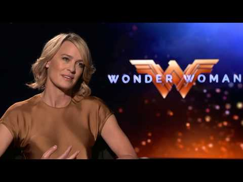 Wonder Woman Interview - Robin Wright