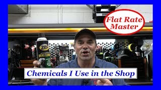 Chemicals I Use in the Shop