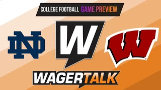 Notre Dame Fighting Irish vs Wisconsin Badgers Picks, Predictions and Odds | Soldier Field | Sept 25