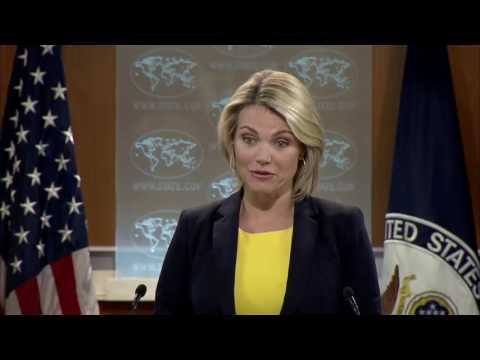 FULL: Heather Nauert State Department Press Briefing On North Korea & China, Donald Trump, Russia