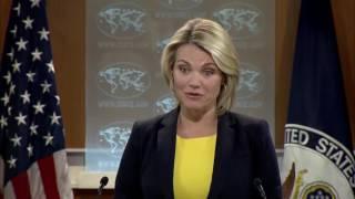 FULL: Heather Nauert State Department Press Briefing On North Korea & China, Donald Trump, Russia