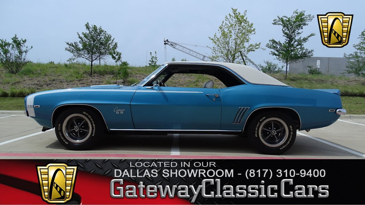 1969 chevrolet camaro rs ss 608 dfw gateway classic cars of dallas youtube. Black Bedroom Furniture Sets. Home Design Ideas
