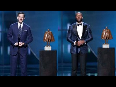 Eli Manning, Larry Fitzgerald on winning the NFL Man of the Year Award