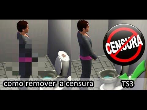 programa para tirar censura do the sims 3