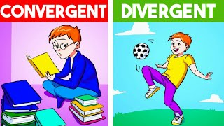 How to produce creative & effective ideas   Divergent vs Convergent thinking (हिंदी)
