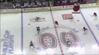 Mike Cammalleri one-timer agaisnt Pittsburgh in game 6