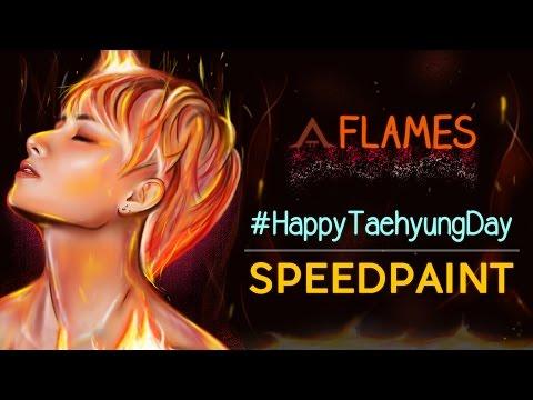 [V BIRTHDAY COLLAB] #HappyTaehyungDay | FLAMES