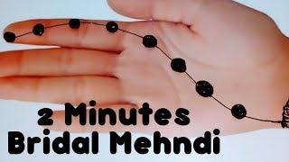 Gol Tikki Mehendi Design Simple Mehndi Designs for hands Easy Tricky Mehndi ke design Handy Mandy