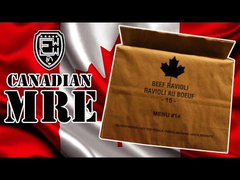 CANADIAN BEEF RAVIOLI MRE
