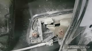 Прадо 120, Gx 470. Не открывается дверь багажника. Профилактика. Заметки.