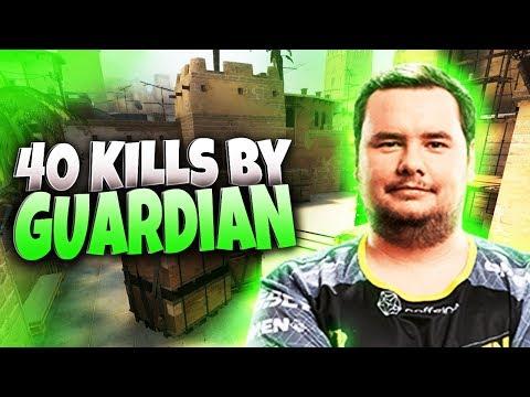 CS:GO - GuardiaN 40 kills on Mirage @ FACEIT
