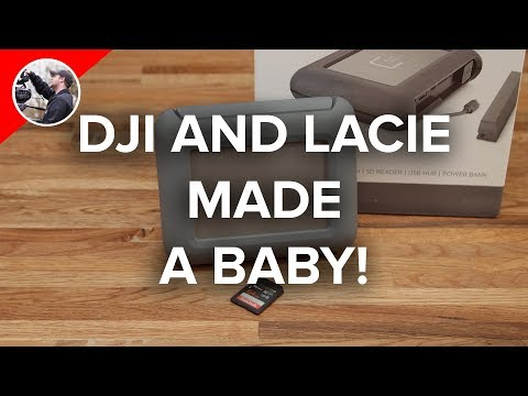DJI LaCie Copilot BOSS 2TB Drive Review - Who Needs A Computer!?