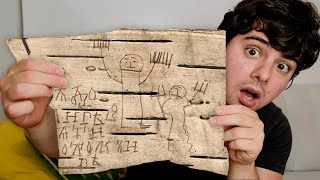 This Boy Lived 800 Years Ago. These Are His Doodles.