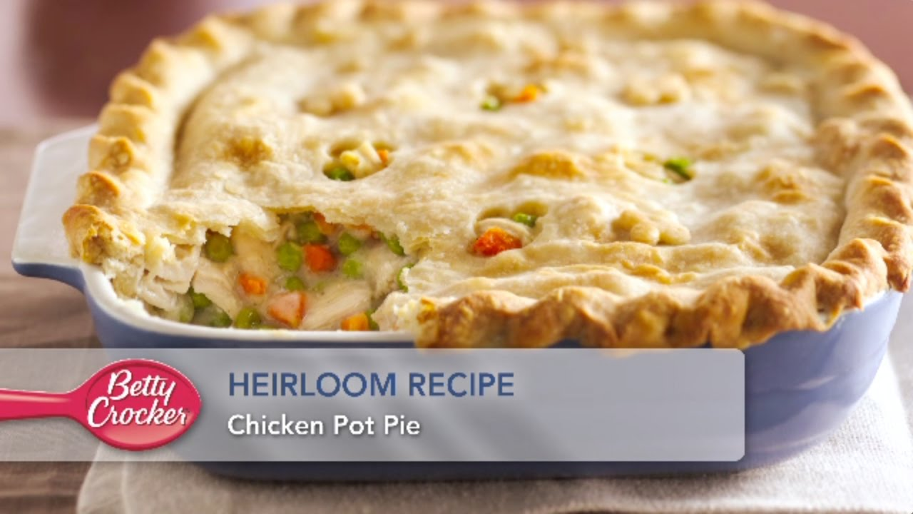 HEIRLOOM RECIPE Chicken Pot Pie - YouTube