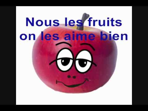"KARAOKE ""L'ABC des fruits"" (instrumental avec paroles)"