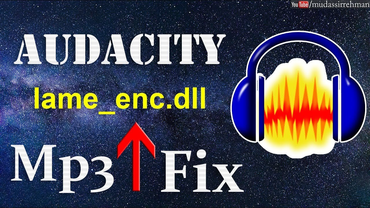 How to download lame_enc. Dll for audacity tutorial 2017 youtube.