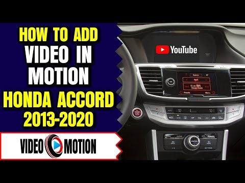 Honda Accord HDMI Port, 2013-2019 Honda Accord Video Interface, Honda Accord Smartphone Mirroring