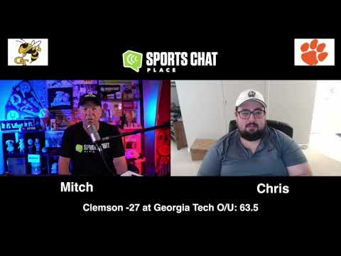 Clemson at Georgia Tech College Football Picks & Prediction Saturday 10/17/20 Sports Chat Place