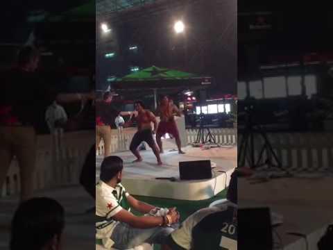 Tuilagi brothers tribal dance