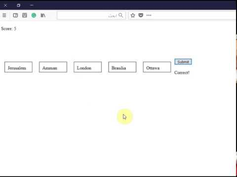 Creating a drag and drop game using html, javascript, and css